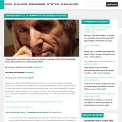 Andrew Abbott et la normativité des sciences sociales