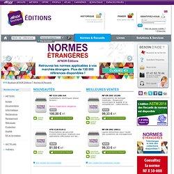 AFNOR - Normes