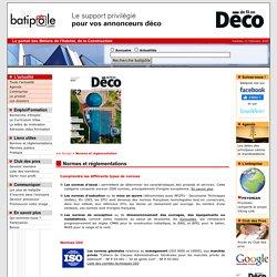 Normes et rêglementation du BTP : ISO AFNOR - batipole.com - batipole.com