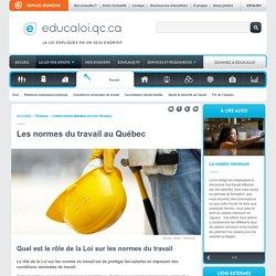 Les normes du travail au Québec