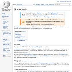 Normopathie