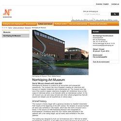 Norrköping Art Museum, Norrköpings kommun