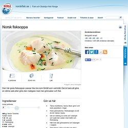 Norsk fisksoppa - Norsk fisk