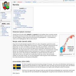 Norska - Skolbok