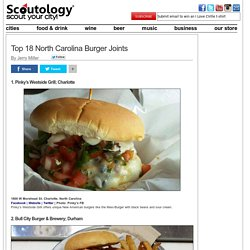 Top 18 North Carolina Burger Joints «