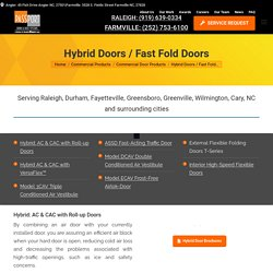 North Carolina Hybrid Doors