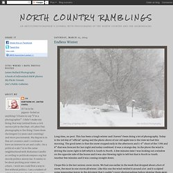 North Country Ramblings