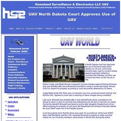 North Dakota Court Approves Use of UAV UAV
