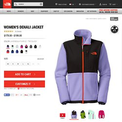 The North Face Women's Jackets & Vests WOMEN'S DENALI JACKET