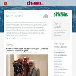 North London - Citizens UK