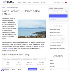 Homes for sale North Saanich