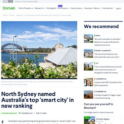 North Sydney named Australia's top 'smart city' in new ranking