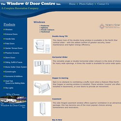 Best Window Options At Window & Door Center