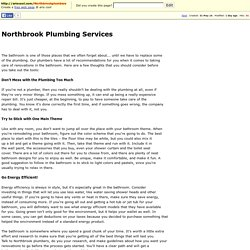 Northbrook Plumbing Services