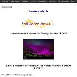 Aurora Borealis Activity Now. Everything You Need to know.