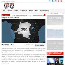 DRC joins Northern Corridor