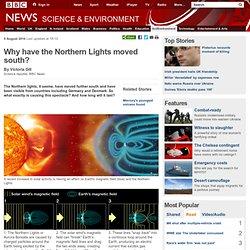 Nouvelles de BBC - Pourquoi les aurores boréales vers le sud?