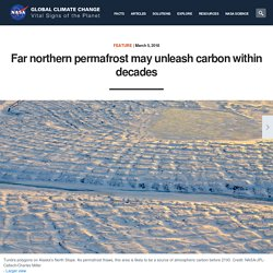 Far Northern Permafrost Releasing Carbon