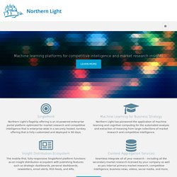 Northern Light Strategic Research Portals