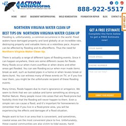 BEST TIPS ON NORTHERN VIRGINIA WATER CLEAN UP