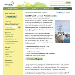 Northwest Ocean Acidification