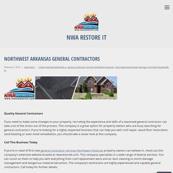 Northwest Arkansas General Contractors