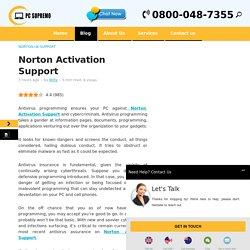 Norton Activation Support