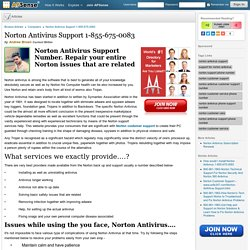 Norton Antivirus Support 1-855-675-0083 by Andrew Brown