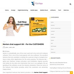 Norton chat support UK – For the CUSTOMERS