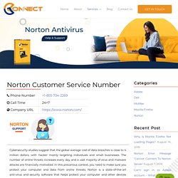 Norton Customer Care Phone Number 1855-734-2269 - Norton Support