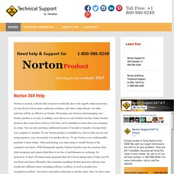 Norton 360 Help USA, Toll-Free: +1-800-986-9249