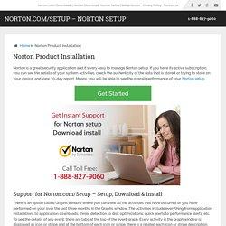 Norton Product Installation