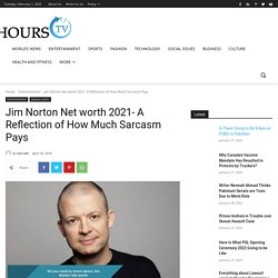 Jim Norton Net worth- A Reflection of How Much Sarcasm Pays