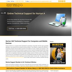 #1800-589-0948 Norton 360 Support Phone Number