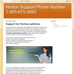 Norton Support Phone Number 1-855-675-0083