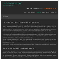 Call 1-844-829-3670 Norton Technical Support Number