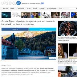 Conoce Rjukan, el pueblo noruego que pasa seis meses sin luz natural y se ilumina con espejos