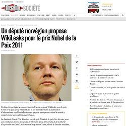 Un député norvégien propose WikiLeaks pour le prix Nobel de la Paix 2011