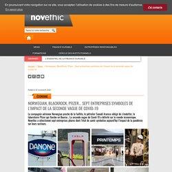 Norwegian, BlackRock, Pfizer... Sept entreprises symboles de l'impact de la seconde vague de Covid-19