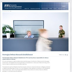 Norwegian Defence Research Establishment