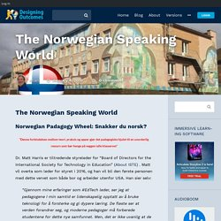 The Norwegian Speaking World - In Support of Excellence