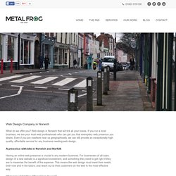 Web Design In Norwich