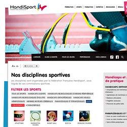 Nos 29 disciplines sportives