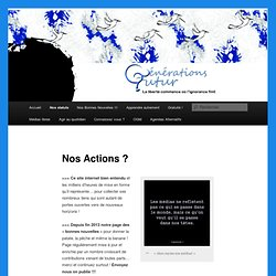 Nos Actions ?