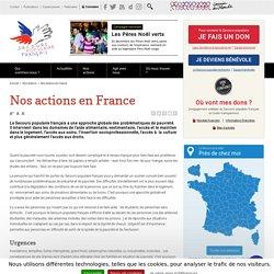 Actions en France