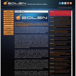 Le Groupe EOLEN réalise sa 3ème opération de croissance externe en moins de 12 mois !