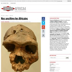 Nos ancêtres les Africains