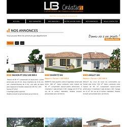 Nos Annonces | LB Création