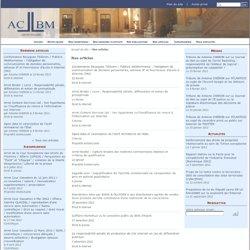 Nos articles - ACBM-AVOCATS