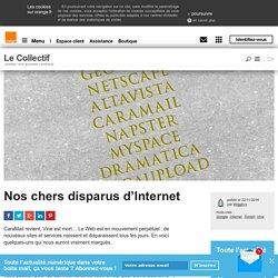 Nos chers disparus d'Internet